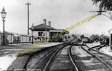 Redbourn Railway Station Photo. Harpenden - Hemel Hempsted. Midland Rly. (2)