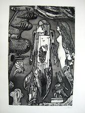 PIT MORELL - RADIERUNG   - HANDSIGNIERT, NUMMERIERT - 1967