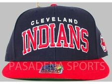 "CLEVELAND INDIANS SNAPBACK CAP ""FORTY SEVEN"" NWT mlb"