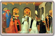 STEFANO DI GIOVANNI SASSETTA - MIRACLE OF THE EUCHARIST 1423 MAGNET IMAN