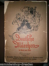 SA-048 Sammelbilderalbum Zepter deutsche Märchen in Wort Bild Komplett selten