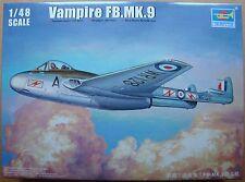TRUMPETER® 02875 Vampire FB.Mk.9 in 1:48