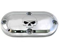 Skull Inspection Cover Chrome Fits-SOME Harley-Davidsons