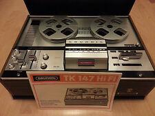 Grundig TK 147 HiFi Stereo Tonband Tonbandgerät Bandmaschine 4-Spur