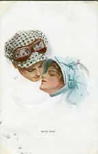 POSTCARD - R & N - HARRISON FISHER - AUTO KISS - GLAMOUR - POSTED