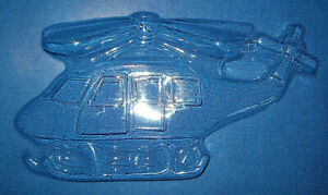 LARGE HELICOPTER CHOCOLATE MOULD OR PLASTER MOULD