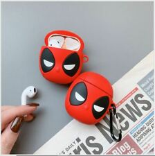 Earphone Case For Apple AirPods 1 2 Gen Silicone Cover Headphone Deadpool