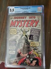 Journey into Mystery 85 CGC 3.5 First Appearance of Loki! Key Issue!