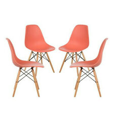 Dining Chair Coral - Pack of 4. Free Delivery to Ireland & UK.