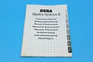 Sega Master System 2 II - Console Manual - Instruction Manual #