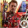 1:6 Hot Toys MMS543D33 Avengers Iron Man Mark MK85 Battle Damaged Tony Figure