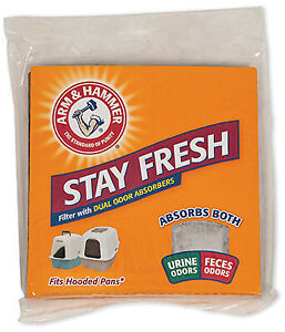 Arm and Hammer 29212 Hood Litter Pan Filter - Quantity 1