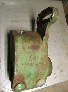 John Deere 37 8 8W 9 9W Sickle Mower Breakaway Tilt Bracket JD H11452H #2