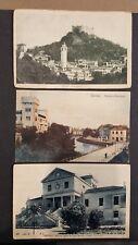 Lotto 12 cartoline TREVISO ASOLO, 7 viaggiate 1919-38, 5 non viaggiate