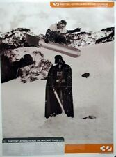 32 Thirty Two snowboard Tyler Lepore 2002 poster MINT condition DARTH VADAR!!