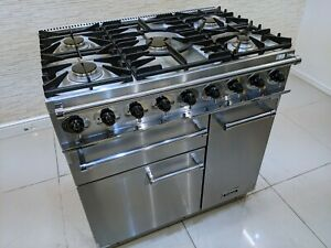 FALCON DELUXE 90CM DUAL FUEL RANGE COOKER IN STAINLESS STEEL  A646