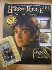 Herr der Ringe Sammelfiguren Nr.181 Frodo in Hobbingen    OVP + Heft