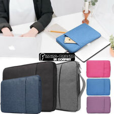 """Sleeve Case Carrying Hand Bag For 10"""" 11"""" 13"""" 14"""" 15"""" Tablet Laptop Notebook"""
