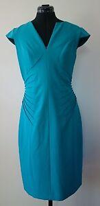 NEW ADRIANNA PAPELL Teal Dress - Size AUS 10