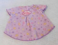 Baby Alive Sweet Slumbers Bedtime Set Replacement Purple Nightgown Only