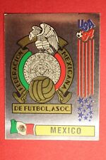 PANINI STICKERS USA 94 WORLD CUP N. 363 BADGE MEXICO NEW BACK VERY GOOD!