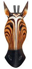 NEU Schöne 40 cm Wand Maske Antilope Gazelle Holz Bali Afrika Maske43