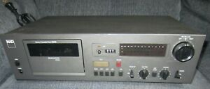 Vintage NAD 6340 Stereo Cassette Deck FOR PARTS ONLY