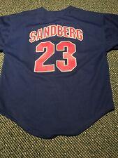 chicago cubs ryne sandberg youth jersey