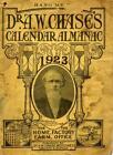 D. A.W. CHASE'S CALENDAR ALMANAC 1923 RARE CANADIAN MEDICAL EPHEMERA REF. CHSE