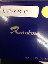 "Rainbow - L639VDC4P - Lens, 1/3"", 6.5-39mm, f/1.4, Auto-Iris, 4 Pin, CS Mount"