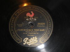 JACK NORWORTH PATHE 78 RPM RECORD 29220 THE YANKS ARE AT IT AGAIN