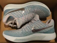New Nike Womens Lunarepic Low Flyknit 2 Running Shoes 863780-405 Sz 7