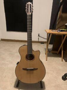 Yamaha NTX1 Nylon String Acoustic-Electric Guitar With Gigbag - Natural