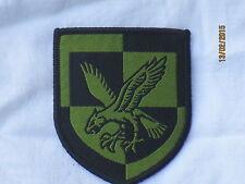 16th Air Assault Brigade, olive, sans velcro/velcro, trf, patch, insigne