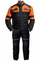 German Wear 2-teiler Motorradkombi Cordura Textilien Motorradjacke +Motorradhose