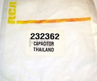 Lot of 2 232362 Original Capacitor RCA