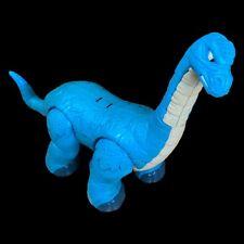 Imaginext Apatosaurus Blue Dinosaur Fisher Price 2010 - Loose