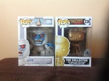 Disney The Abominable Snowman and The Collector Funko Pop lot