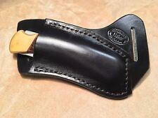 Buck 110/112 Custom Black Leather Crossdraw Sheath (right hand)