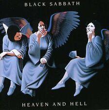 BLACK SABBATH HEAVEN  AND HELL REMASTERED 2 CD DIGIPAK NEW