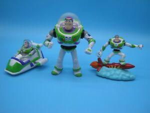 3 Buzz Lightyear figures