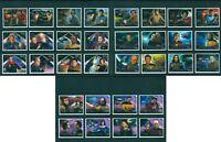 Star Trek Space Cinema MNH set 32 stamps