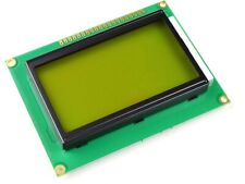 Graphic Lcd 12864 Glcd 128 X 64 Yellow Green St7920 Serial And Parallel Mode