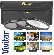 3-Pc UV PL & ND8 Filter Kit For Olympus OM-D E-M5 E-M10 Mark II Pen E-PL7 E-PL6