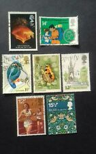 Old British stamps 1980's