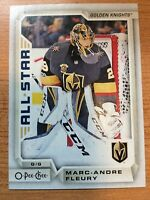 O-Pee-Chee 2018-2019 MARC-ANDRE FLEURY ALL STAR CARD #7 VEGAS GOLDEN KNIGHTS
