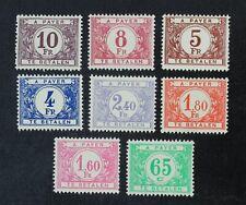 CKStamps: Belgium Stamps Collection Scott#J54-J61 Mint H OG
