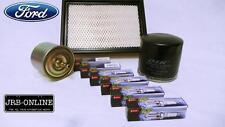FORD ESCAPE BA ZA 3.0L V6 OIL FUEL AIR FILTER TT PLATINUM SPARK PLUGS KIT 01-04