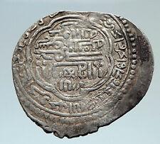 1304-1316 AD ISLAMIC Aq Qonyunlu Dynasty Hamza Osman Genuine Silver Coin i75414