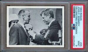 1963 ROSAN JOHN F. KENNEDY #35 DECORATING SPACEMAN PSA 9
